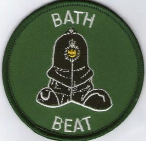 Bath Beat Badge green