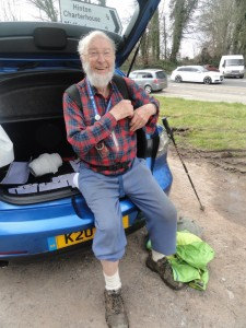 David Fry – oldest participant, 86½ years old